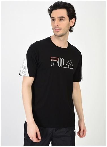Fila Fila Loe Erkek T-Shirt Siyah